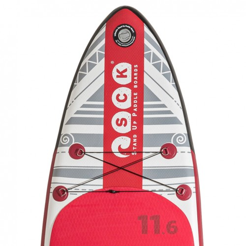 SCK inflatable SUP oμicron 11'6'' package
