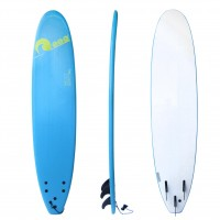 Soft surf board 8ft Blue SCK