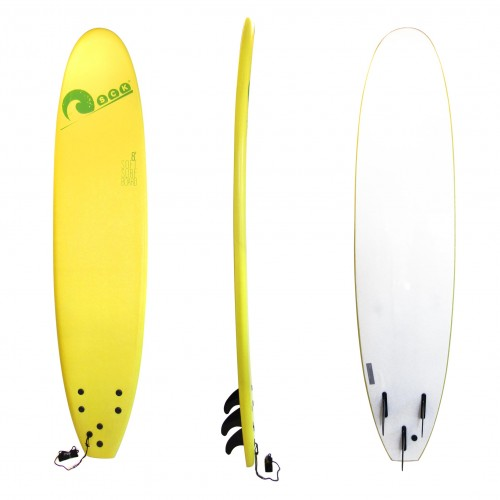 Soft surf board 8ft Yellow SCK