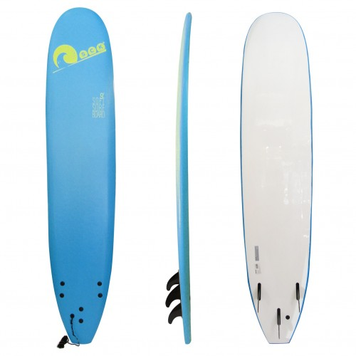 Soft surf board 9ft Blue SCK