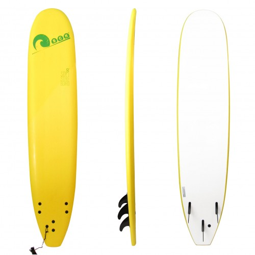 Soft surf board 9ft Yellow SCK