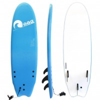 Soft surf board 6ft Blue SCK