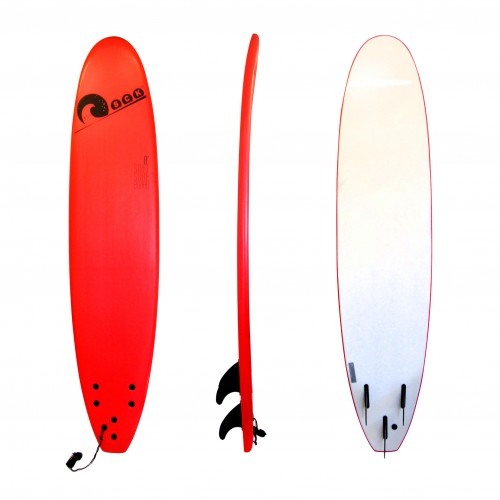 Soft surf board 8ft Red SCK