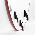 Soft surf board 8ft Red SCK