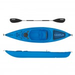 Seaflo Sit-in Kayak with paddle - Blue