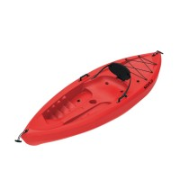 Fat Boy single seat kayak Seaflo with paddle Red