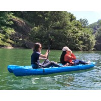 Duorum Double kayak 2+2 seats Seaflo Blue