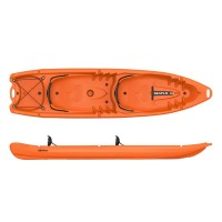 Double kayak 2+2 seats Duorum Seaflo Orange
