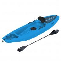 Seaflo Puny Single Kayak with wheel and paddle - Blue