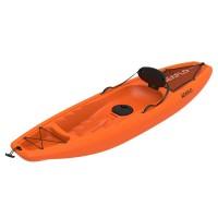 Puny Single Kayak Seaflo with wheel Orange