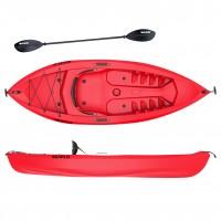 Seaflo FAT BOY - Single seat kayak with paddle - Red