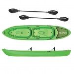 SeaFlo Pair double kayak by with 2 paddles - Orange