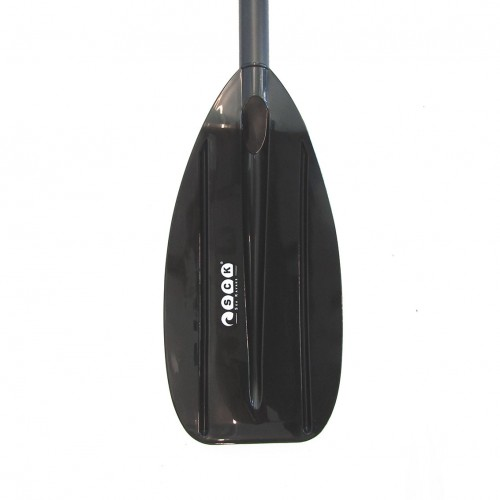 Children's kayak paddle 160cm aluminum SCK - Black