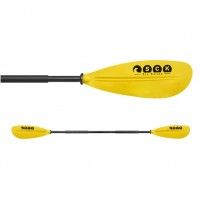Kayak paddle divided 220cm Aluminium SCK Yellow