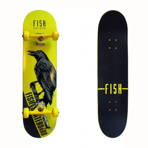 Skateboard 31'' Crow Fish