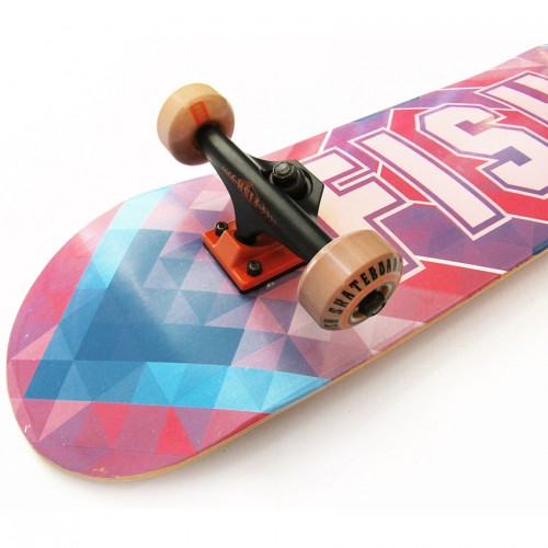 Skateboard 31'' Multiply Rhombus Fish