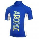 UV lycra short sleeve for kids blue Aropec