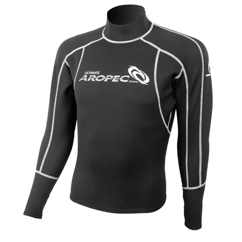 1.5mm Neoprene Rash Guard with back zip