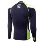 UV Lycra Long Sleeve Rash Guard for Man Lime
