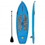 SUP board 9'6'' polyethylene SeaFlo with SUP paddle