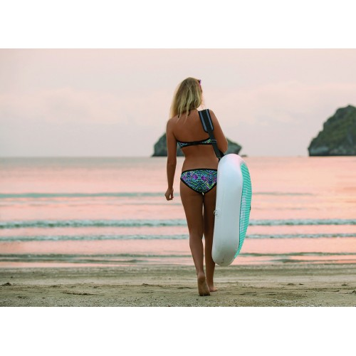 Inflatable SUP yoga board YG6 zray 11' with paddle (opend in the shop)