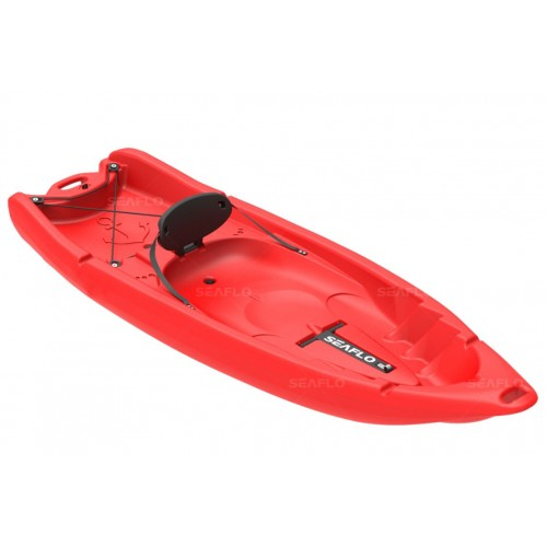 Seaflo Primus 2 single seat kayak  1+1 with paddle - Red