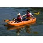 Pair double kayak by SeaFlo Orange
