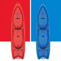 Duorum double kayak 2+2 seats Duorum Seaflo with 2 paddles Blue