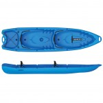 Double kayak 2+2 seats Duorum Seaflo with 2 paddles