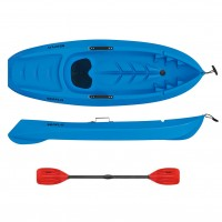 Kids kayak Seaflo with paddle Blue