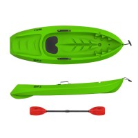 Kids kayak Seaflo with paddle Green