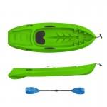 Seaflo KID - Kids kayak with paddle - Green