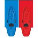 Kids kayak Seaflo with paddle Green