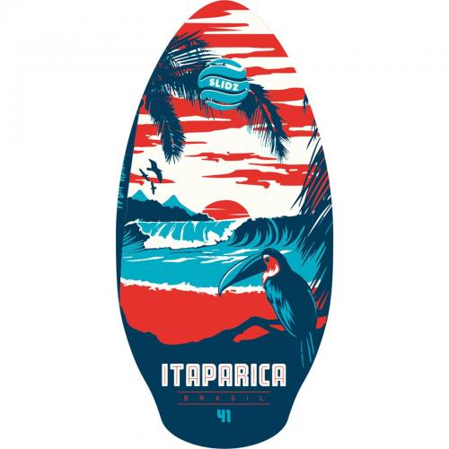 Skimboard ξύλινο Itaparica Slidz 105cm