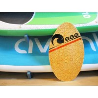 Skimboard Wood 76cm Orange SCK