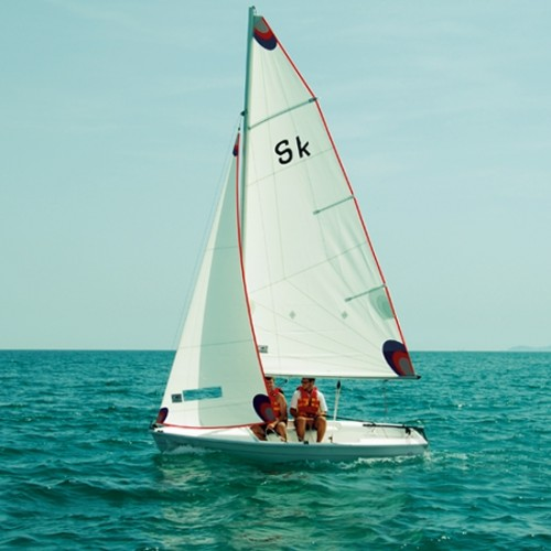 "Small dinghy boat ""Skipper"""