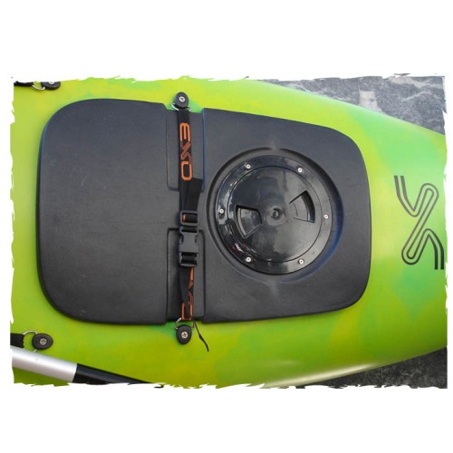 Removable waterproof storage for Shark Kayak