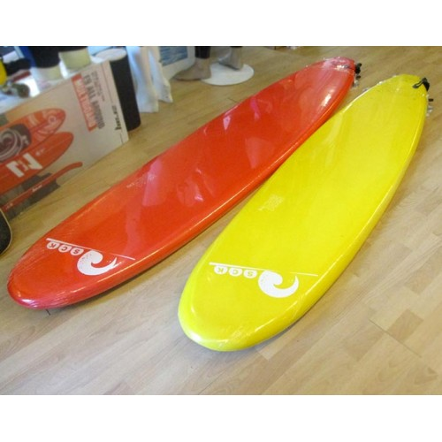 Soft surf board 7ft Yellow SCK