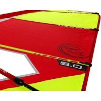 Trainer V2 5,0 Dacron sail - Complete windsurf Rig with epoxy mast - ΤΙΚΙ