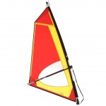 Classic 2,5 Dacron sail - Complete windsurf Rig - ΤΙΚΙ