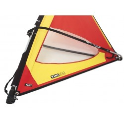 Classic 4,0 Dacron sail - Complete windsurf Rig with epoxy mast - ΤΙΚΙ