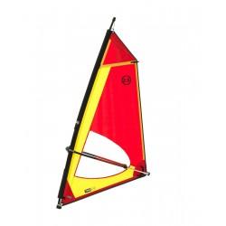 Classic 3,0 Dacron sail - Complete windsurf Rig with epoxy mast - ΤΙΚΙ