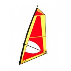 Classic 5,0 Dacron sail - Complete windsurf Rig with epoxy mast - ΤΙΚΙ