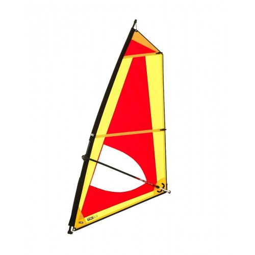 Classic 5,0 Dacron sail - Complete windsurf Rig with epoxy mast - ΤΙΚΙ