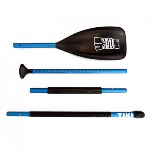 SUP Paddle Adjustable 139-220cm 4 Parts Aluminum / Polypropylene Tiki