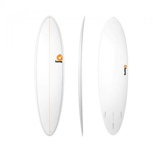 Surf board Torq 7'2'' epoxy Funboard Pinlines