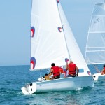 Sailing boat Tridente 16