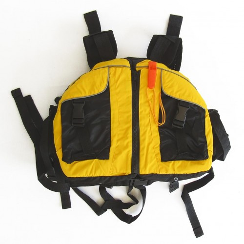 Life jacket for kayak one-size Yellow