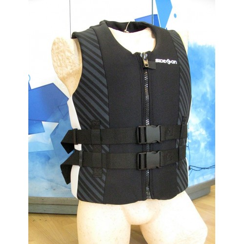 Neoprene life jacket Side-on