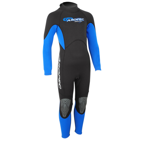 Wetsuit neoprene 2mm child/teen fullsuit blue Aropec